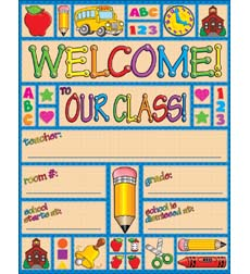 Country Schooltime Welcome! Chart