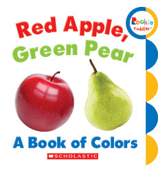 Rookie Toddler: Red Apple, Green Pear