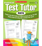 Standardized Test Tutor: Math: Grade 6