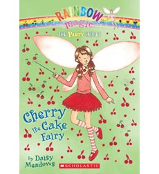 Rainbow Magic-The Party Fairies: Cherry the Cake Fairy