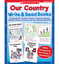 Our Country Write & Read Books