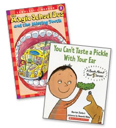 Health and Wellness Take Home Book Pack Grade 2