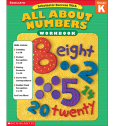 Scholastic Success With: All About Numbers (Grade K)