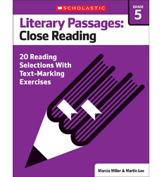 Literary Passages: Close Reading: Grade 5