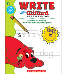 Write With Clifford The Big Red Dog
