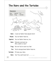 The Hare and the Tortoise: A Beginning Reader Play