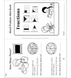 Fractions: Word Problem Mini-Book