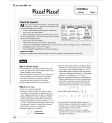 Pizza! Pizza! (Fractions/Money): Building Real-Life Math Skills