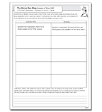 Scraps of Time: The Home-Run King - Activity Sheet