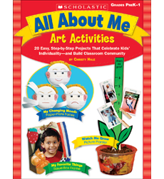 All About Me Art Activities