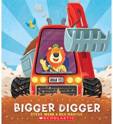 Bigger Digger 9780545551090