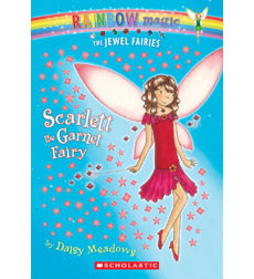 Rainbow Magic—The Jewel Fairies: Scarlett the Garnet Fairy