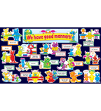 Good Manners Monsters Mini Bulletin Board
