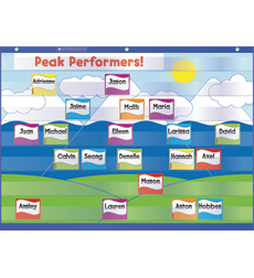 Classroom Management & Behavior Pocket Chart