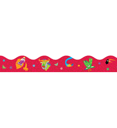 Jingle Jungle Animals Scalloped Trimmer