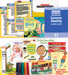 Comprehensive Summer Reading Solution Grade 2 Health & Wellness (5 Books)