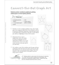Connect-the-Dot Graph Art (Coordinate Geometry/Spatial Relationships): Quick & Easy Math Art