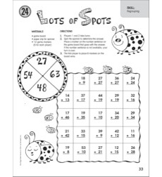 Lots of Spots (Regrouping): One-Page Math Game