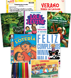 My Books Summer Spanish Grade 3 Fiction Pack