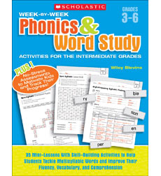 Week-by-Week Phonics & Word Study Activities for the Intermediate Grades