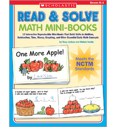 Read & Solve Math Mini–Books