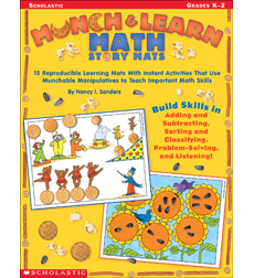 Munch & Learn Math Story Mats