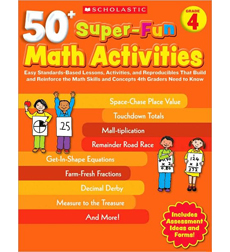 50+ Super–Fun Math Activities: Grade 4