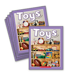 Guided Reading Set: Level B – Toys