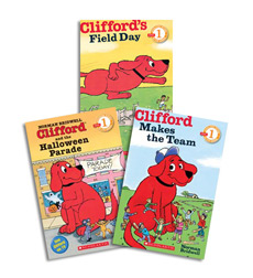 Clifford Reader Level 1 Grades K-2