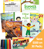 Summer Grade 1 Health & Wellness Classroom Set