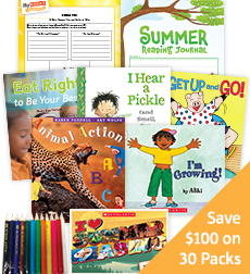 My Books Summer Grade 1 Health and Wellness - Classroom Set