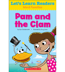 Let's Learn Readers: Pam and the Clam