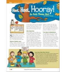 Hoot, Hoot, Hooray! (Arts and Crafts Ideas): Teaching With the Best of Instructor