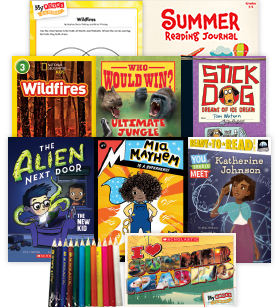 My Books Summer Grade 3 Fiction-Nonfiction Pack