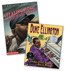 Scholastic Trio Individual Theme Unit Set 4, Language Arts - African-American Biographies, Grades 4-5