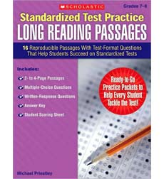 Standardized Test Practice: Long Reading Passages: Grades 7–8