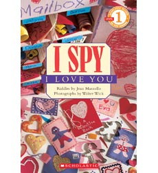 Scholastic Reader!® Level 1-I Spy: I Spy™ I Love You
