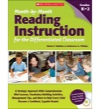 Month-by-Month Reading Instruction for the Differentiated Classroom