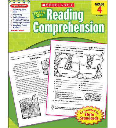 Scholastic Success With Reading Comprehension: Grade 4