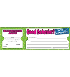 Good Behavior! Ticket Awards
