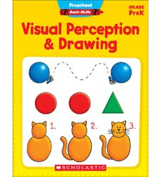 Preschool Basic Skills: Visual Perception & Drawing