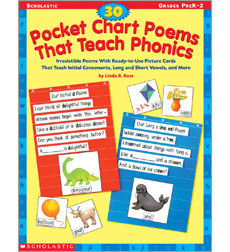 30 Pocket Chart Poems That Teach Phonics