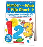 Number of the Week Flip Chart