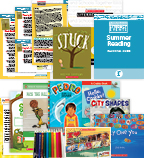 Comprehensive Summer Reading Solution Grade 1 Fiction (5 Books)