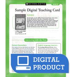 Guided Reading Level U: Freedom Train Teaching Card 164096