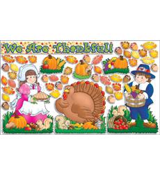 Happy Thanksgiving! Bulletin Board 9780439492096