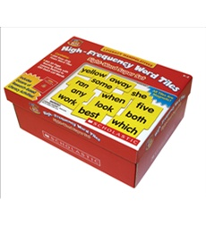 Little Red Tool Box: High-Frequency Word Tiles: Sight-Word Super Set