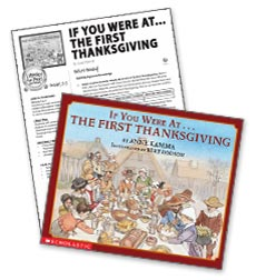 If You Were at the First Thanksgiving – Literacy Express Pack