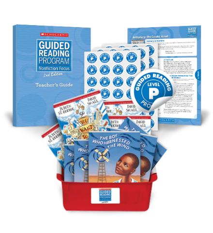 Guided Reading Nonfiction Focus 2nd Edition Level P