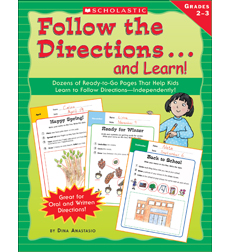 Follow the Directions . . . and Learn! Grades 2-3